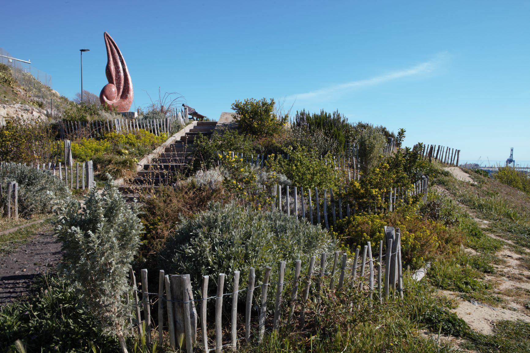 Un chantier d'insertion pour l'aménagement du jardin Richelieu