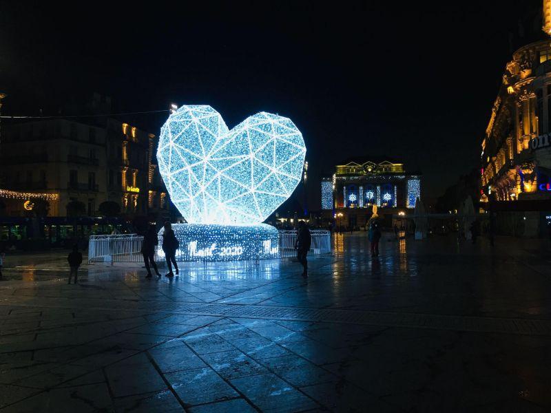 Noël 2020 - Place de la Comédie Montpellier