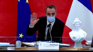 Michaël Delafosse, conseil de métropole 29 mars 2021