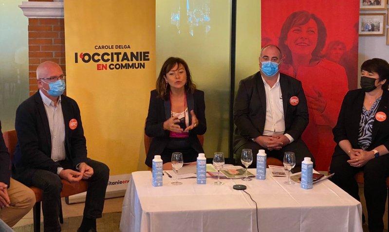 Conférence de presse : Occitanie en Commun Toulouse - mai 2021