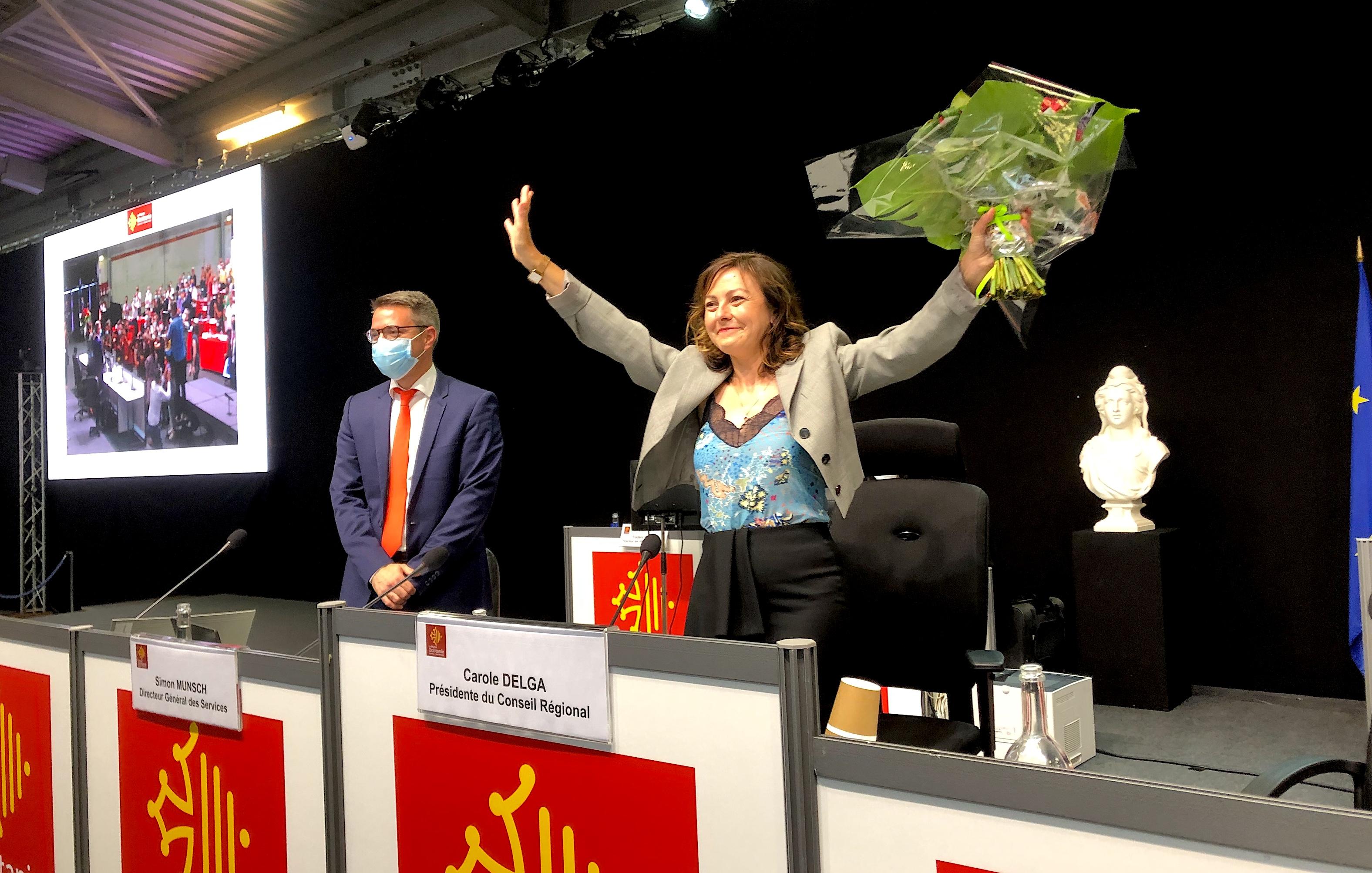 Carole Delga, Présidente du Conseil Régional d'Occitanie ©CDS