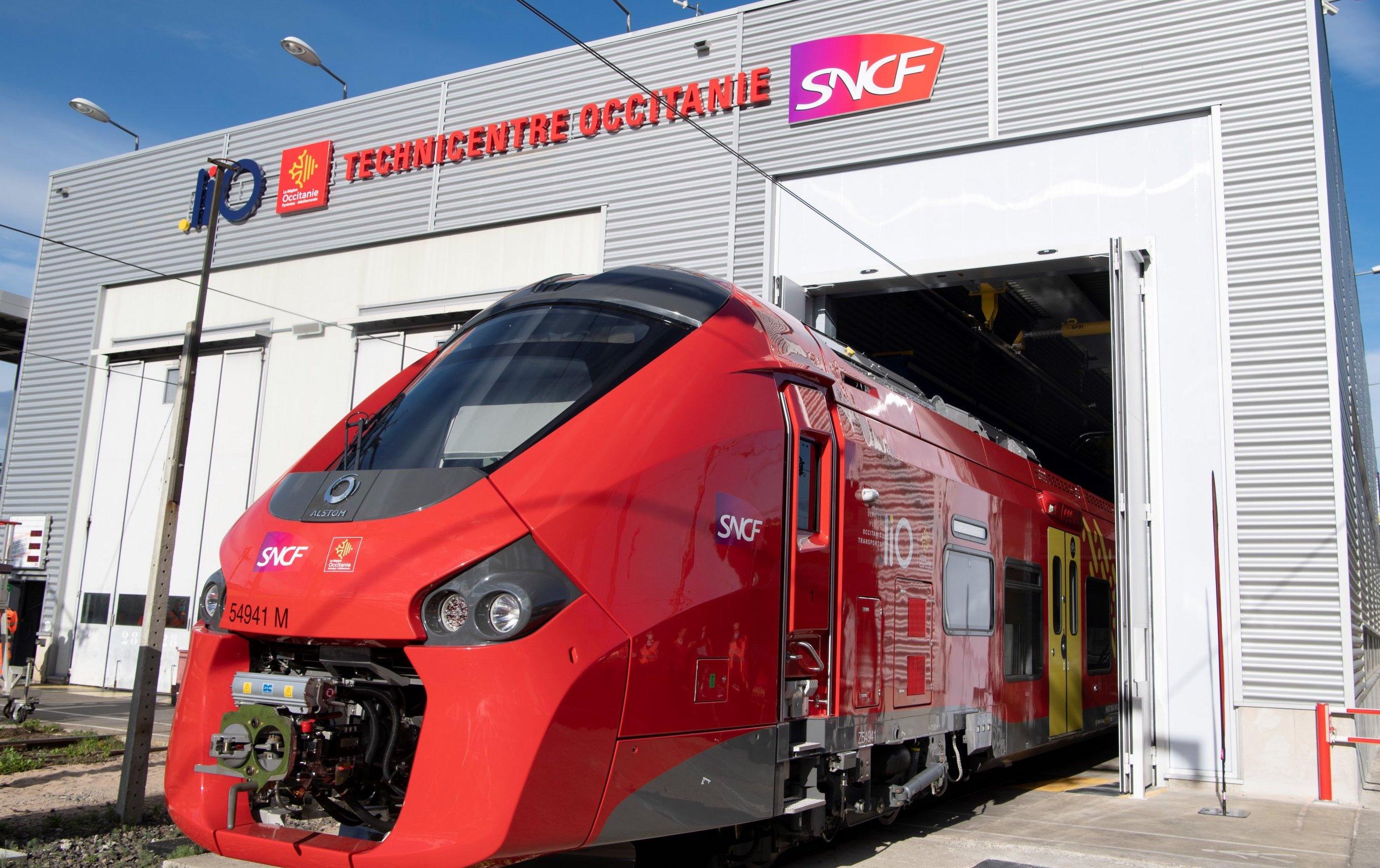 Région Occitanie train liO SNCF (©Laurent Boutonnet)