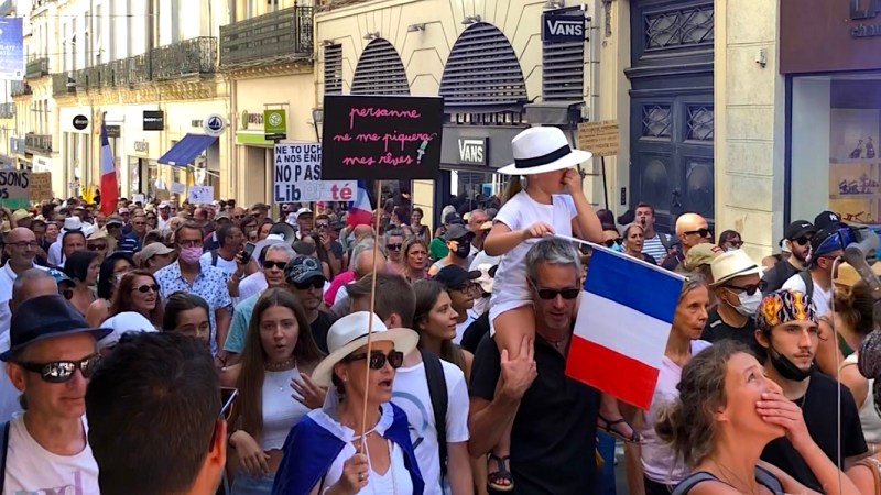 Montpellier mobilisation #antipass #manif28aout (©JPV)