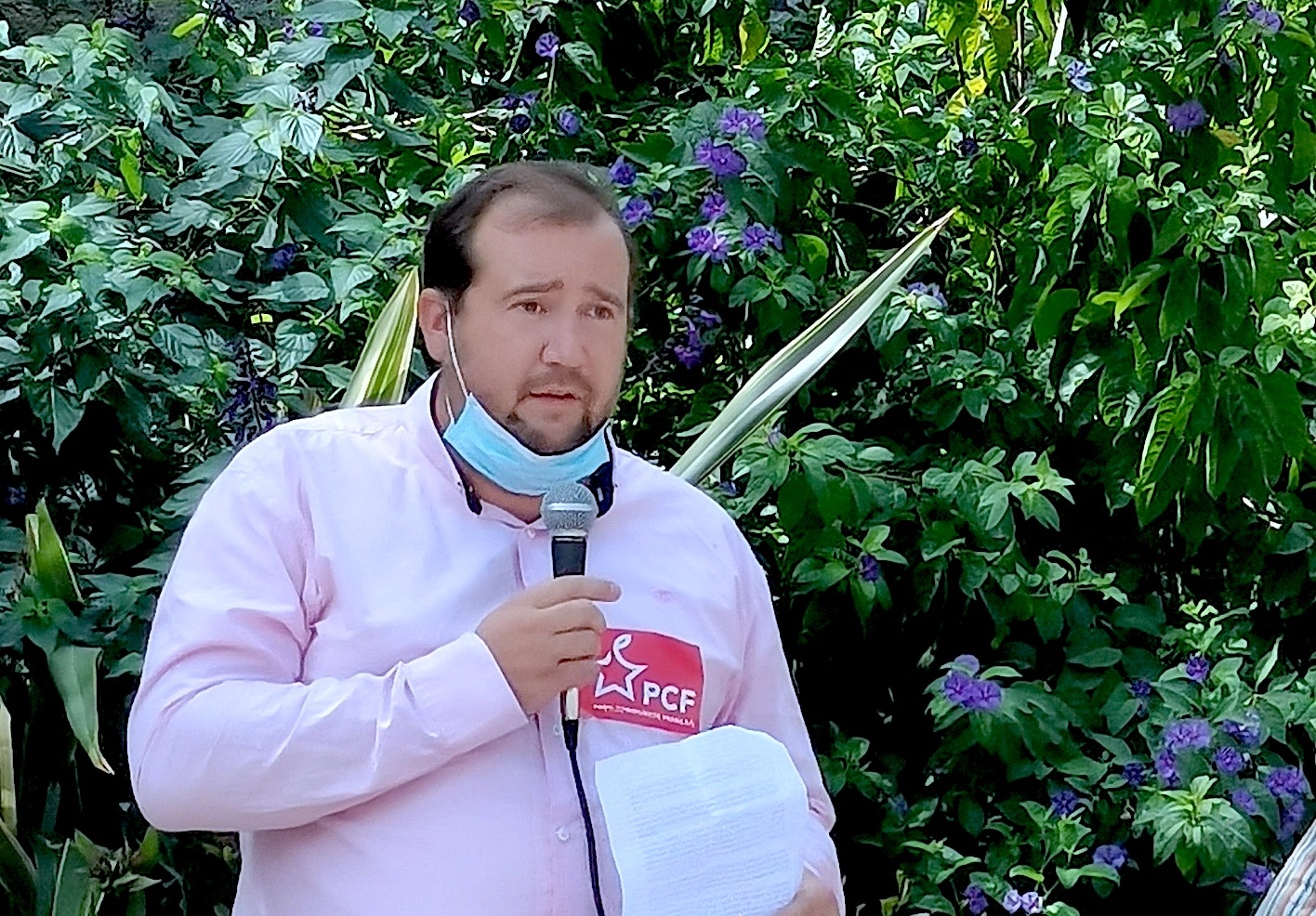 Nicolas Cossange, Conseiller Municipal et communautaire - Béziers PCF - PS - PRG - Citoyens