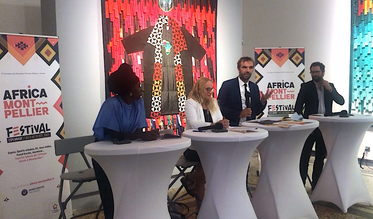 Africa Montpellier Festival, conférence de presse sept-2021 (©LMI)