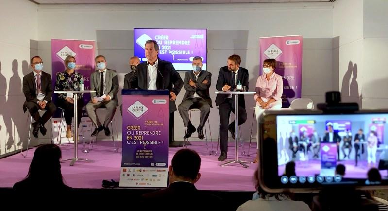Montpellier, La Place Créative 2021 (©JPV)
