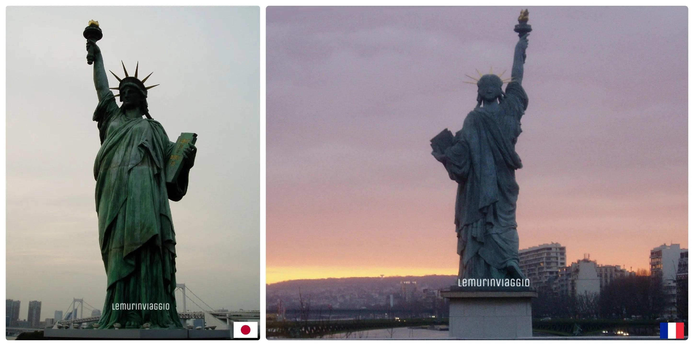 statue della libertà Giappone Francia Lemurinviaggio