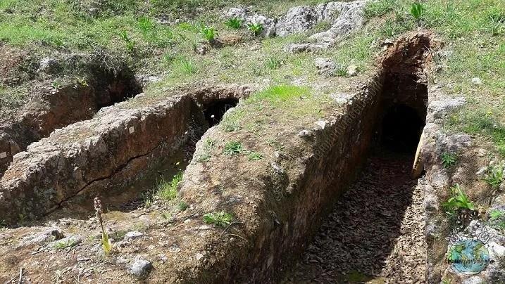 Necropoli di Armeni a Creta - Grecia