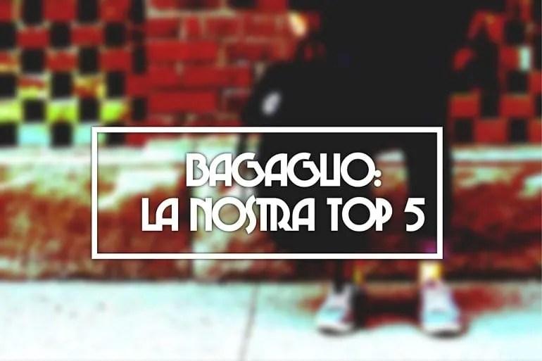 Bagaglio: la nostra TOP 5