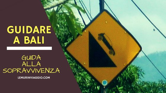 Guidare a Bali. Guida alla sopravvivenza!