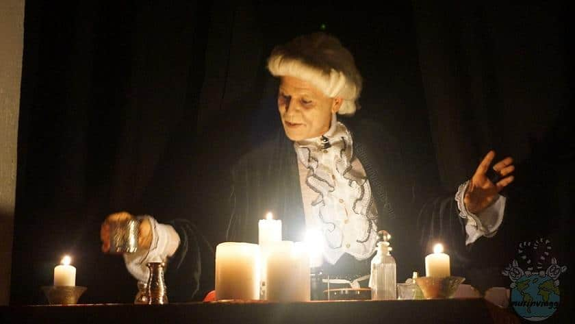 Pozioni magice per halloween a Gradara
