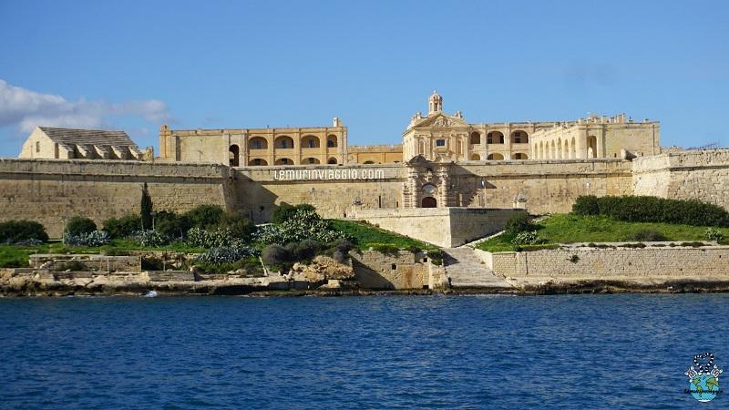 Manoel Island vista dal mare