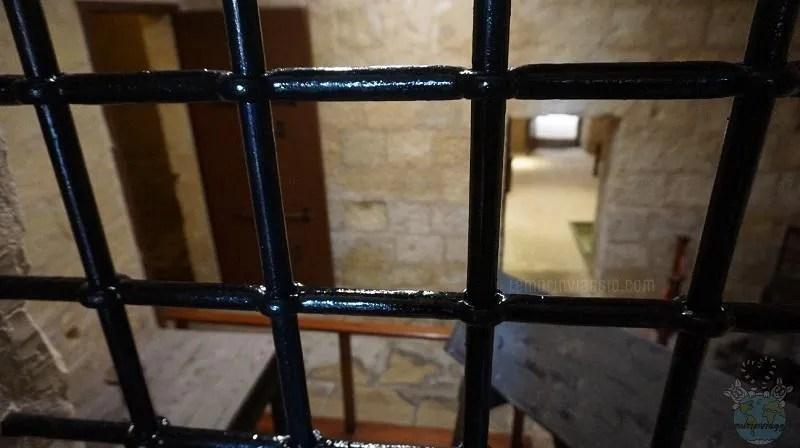 Sala delle torture a Malta nel Palazzo dell'Inquisitore