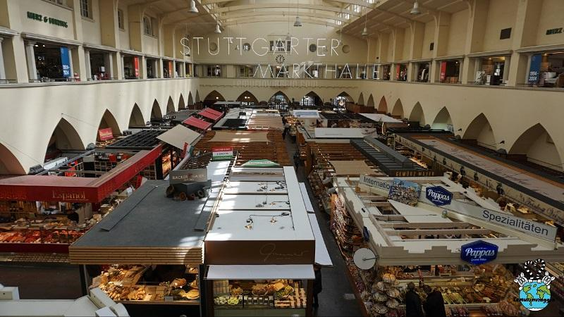 Markthalle il mercato coperto di Stoccarda