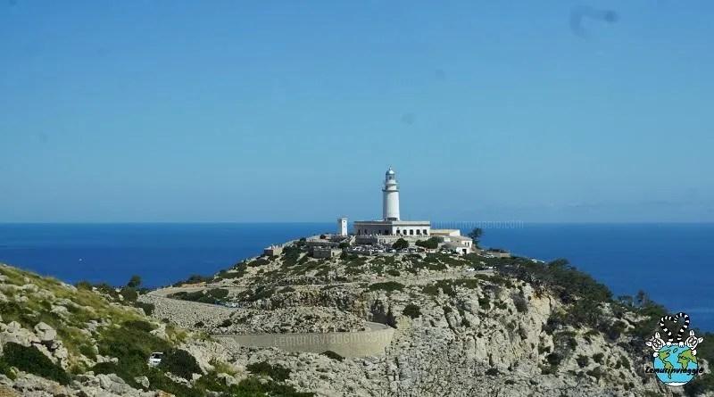 Faro di Cap de Formentor a Maiorca