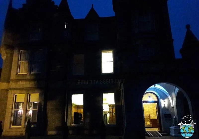 Dormire in un castello con fantasmi in Scozia