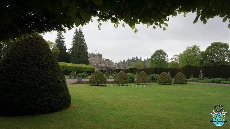 I giardini del Castello di Glamis