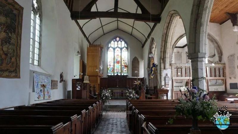 Interno della chiesa di St. Nnicholas