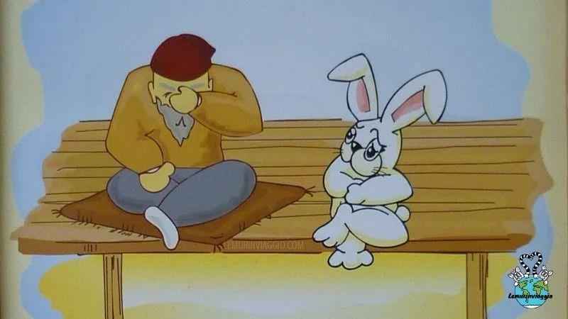 Storia del coniglietto e del tanuki