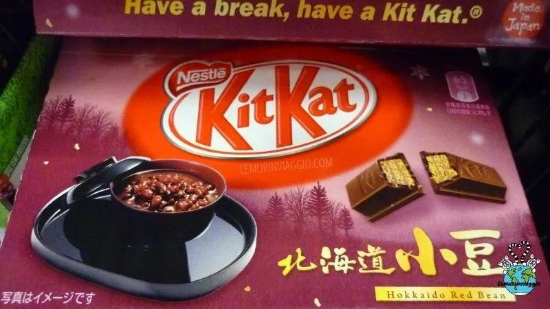 Nell'inglese parlato dai giapponesi i Kit Kat, coloratissimi e ai gusti più strani, vengono chiamani kitto katto