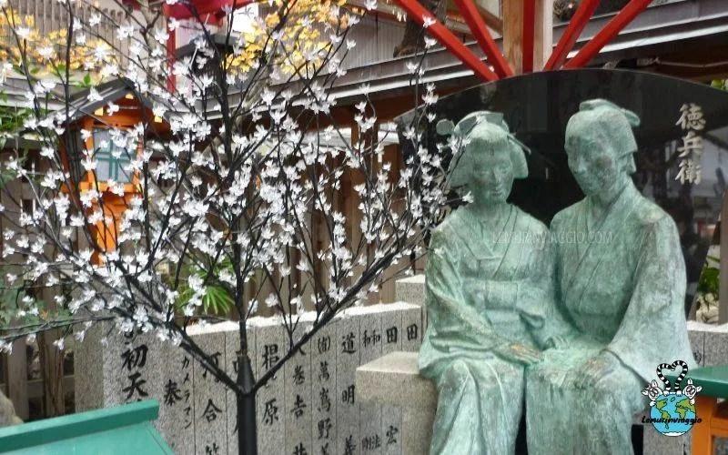 Ohatsu e Tokubei Ohatsu tenjin tsuyunoten shrine