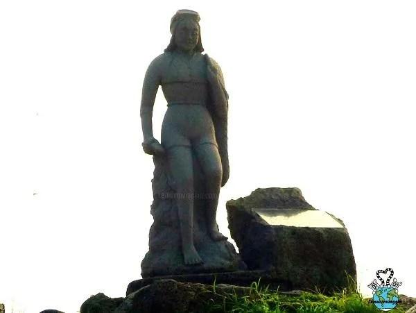 Statua delle sirene di Jeju in Corea del Sud