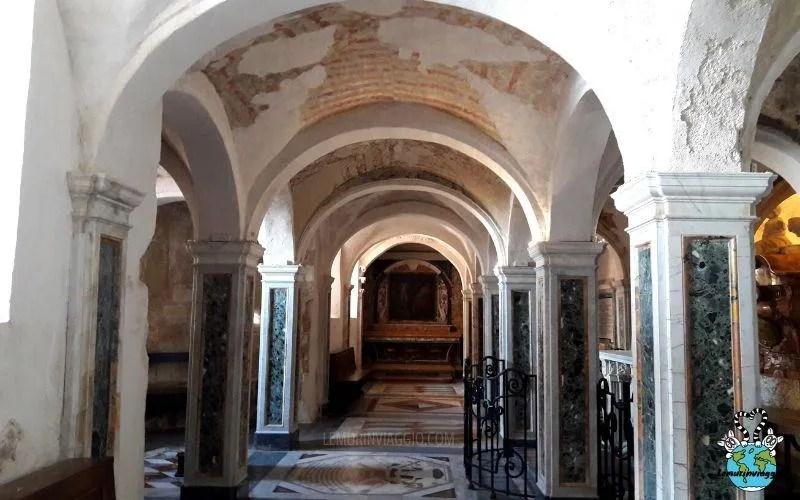 Nella cattedrale di San Ciriaco c'è una cripta sotterranea dove viene conservata la salma di San Ciriaco