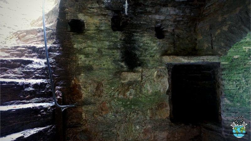 cella sotterranea dove era imprigionata Margaret Pomeroy