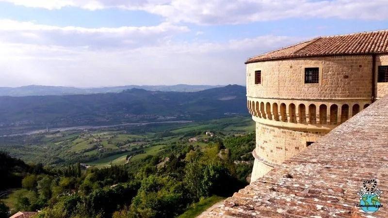 Fortezza di San Leo in Emilia Romagna
