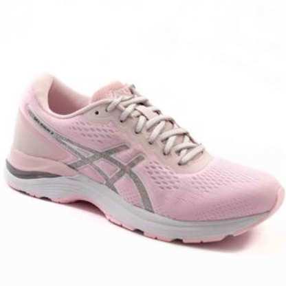 tenis rosa esportivo