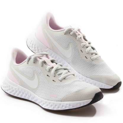 tenis nike feminino esportivo rosa e branco