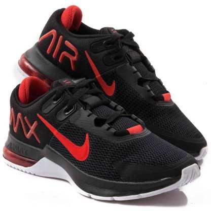 tenis nike air max preto e vermelho