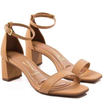 sandalia vizzano pele