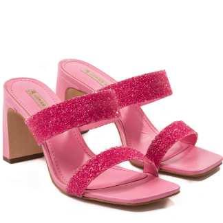 sandalia bischoff rosa