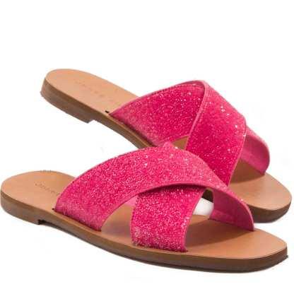 rasteira pink jorge bischoff