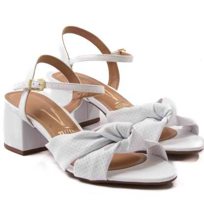 sandalia vizzano branca feminina