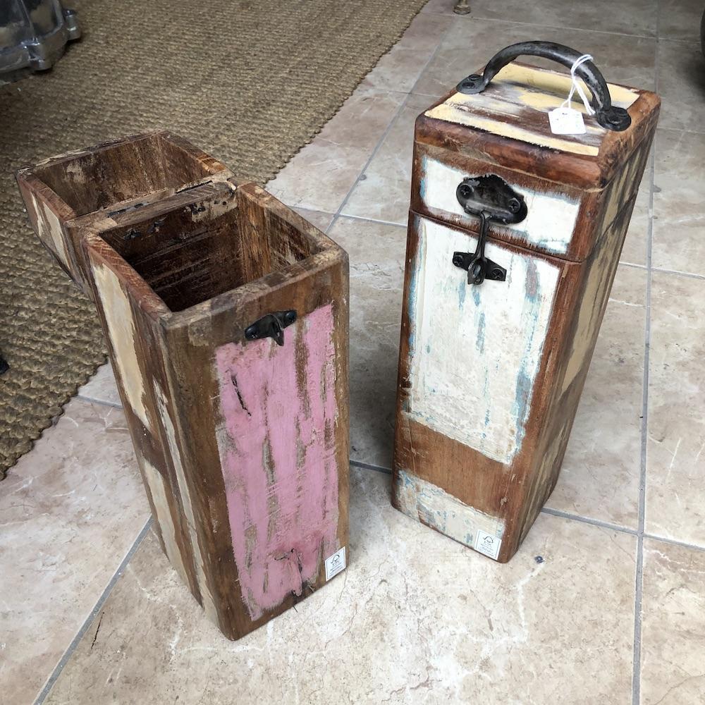 porta bottiglie vintage