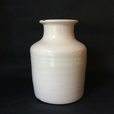 vaso bianco ceramica