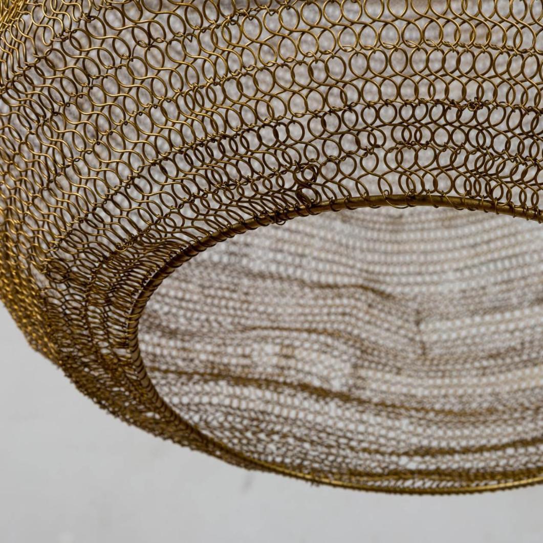 lampadario rete oro