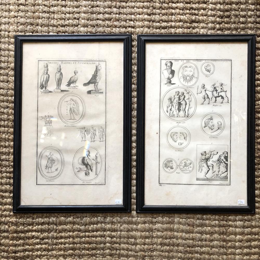 stampe antiche francesi