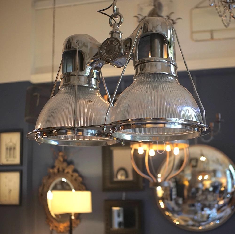 lampadario due luci Eichholtz