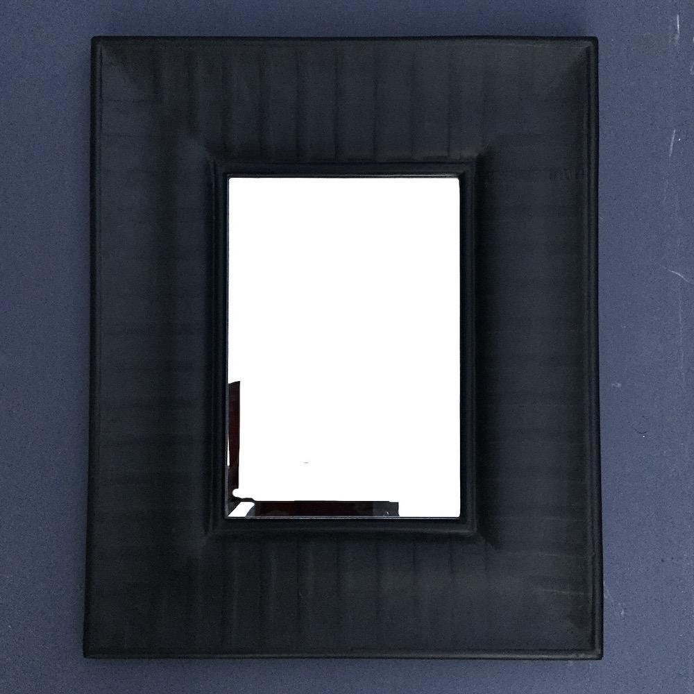 Specchio Napoleon III nero