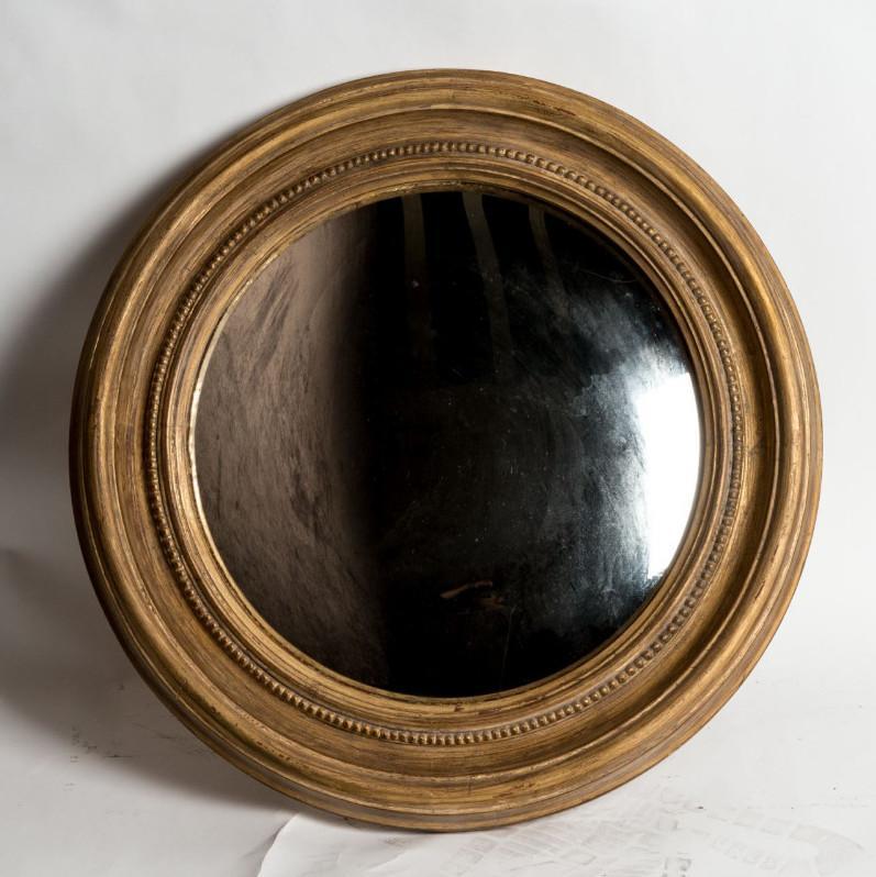 specchio convesso oro D75