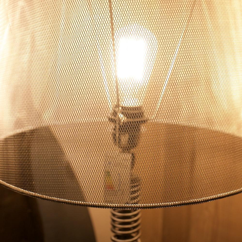 lampada metallica