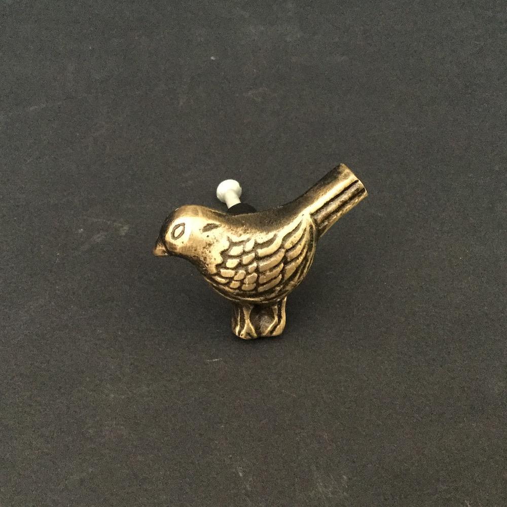 pomolo uccellino oro