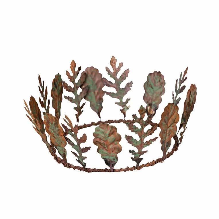 corona foglie ferro