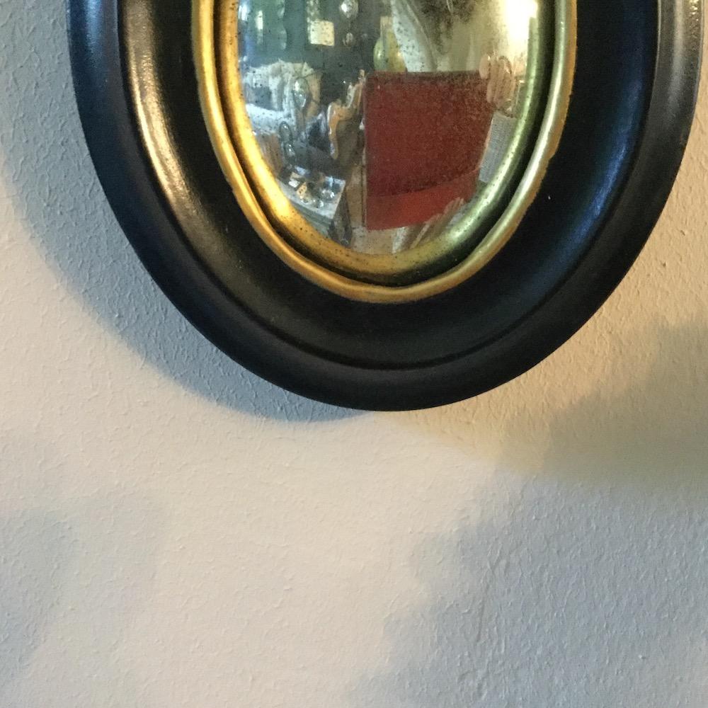specchio ovale Napoleone