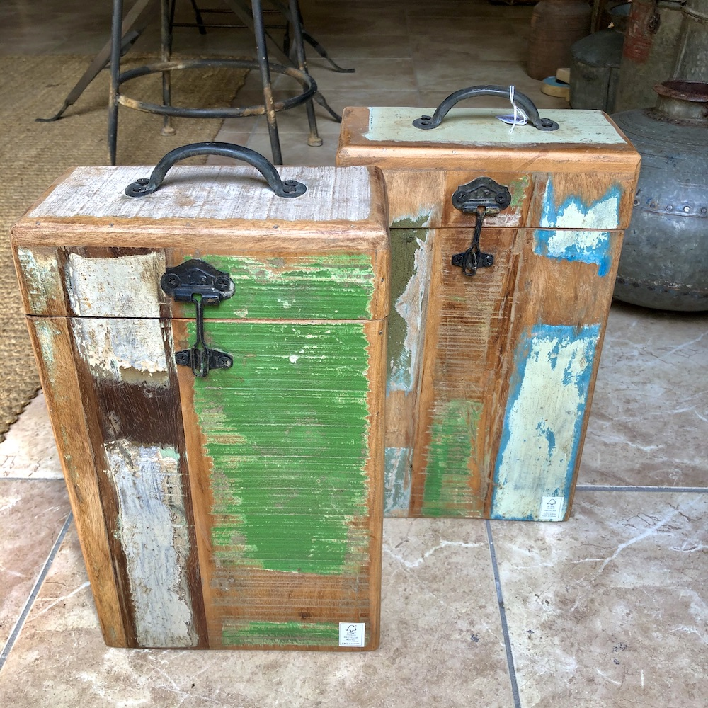 porta bottiglie legno doppio