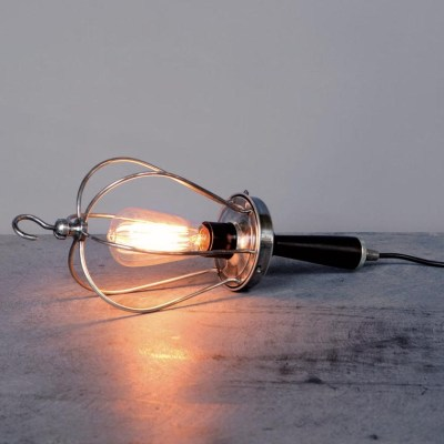 lampada portatile nickel