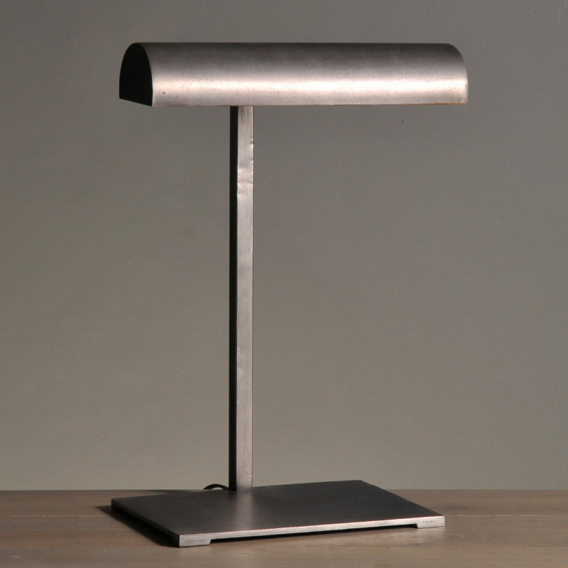 lampada metallo lettura